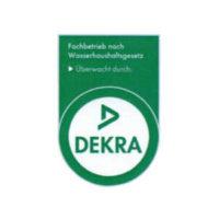 Zertifikat überwacht durch DEKRA